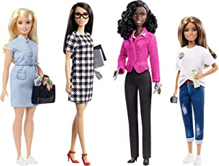 Barbie Campaign Team Giftset with Four 12-in/30.40-cm...