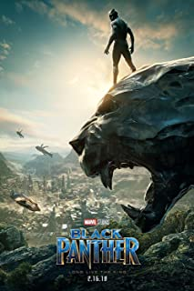 Posters USA Marvel Black Panther Movie Poster GLOSSY FINISH - FIL607 (24