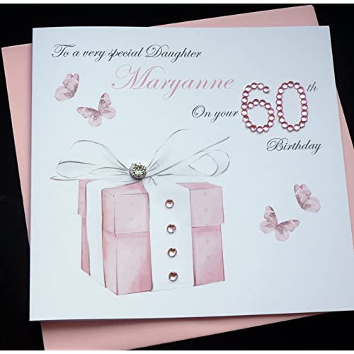 Handmade Personalised Birthday Card 30th 40th 50th 60th 70th 80th 90th