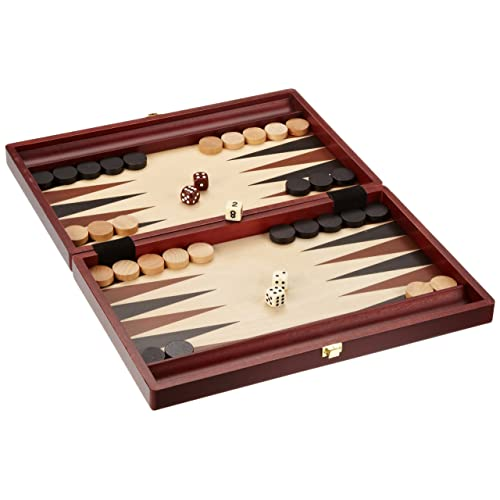Backgammon Holz