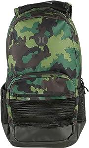 Hurley Patrol Printed Backpack Mens Multicolor/Black