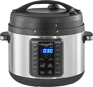 Crock-Pot 2097588 10-Qt. Express Crock Multi-Cooker with Easy Release Steam Dial, 10QT,..