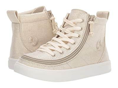 BILLY Footwear Kids Classic Lace High (Toddler/Little Kid/Big Kid) (Natural Gold) Girls Shoes