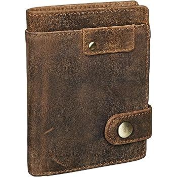 Couleur:Marron Moyen STILORD Sterling Portefeuille Homme RFID Cuir Porte-Monnaie en Cuir Homme NFC Portefeuille de Haute Qualit/é en Cuir V/éritable