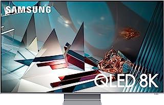 Samsung 65 Inches Q800T QLED 8K Smart TV (2020), Eclipse Silver, QA65Q800TAUXZN