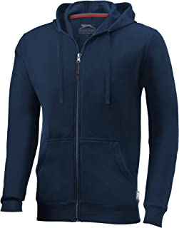 Slazenger Mens Open Full Zip Hooded Sweater