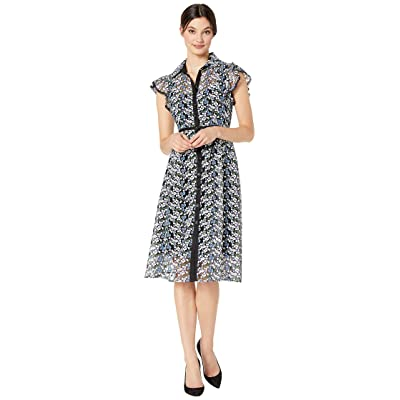 Nanette Lepore Embroidered Dress (Black Multi) Women
