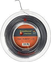 خيط التنس Kirschbaum Reel MAX Power Tennis ، 1.20 مم/ 18 ، فضي رمادي