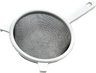 """Chef Craft 1-Piece Stainless Steel Mesh Strainer, 6"""", White"""
