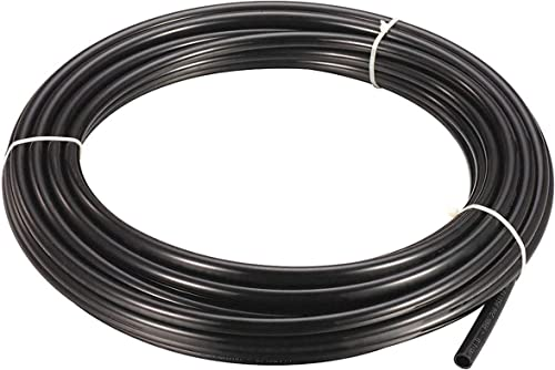 "Utah Pneumatic Air Line 1/4"" Od 32.8 Feet 10 Meters SAEJ844 Air Brake Tubing Nylon Air Ride Hose DOT Approved for Air..."