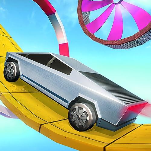 Mega Ramp Cybertruck Stunts Game 3D