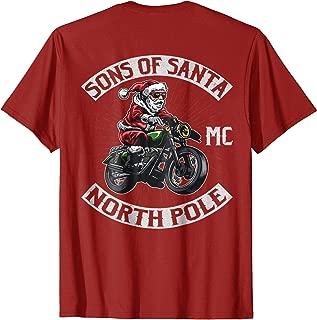 Sons of Santa North Pole Motorcycle Club Shirt Shirt