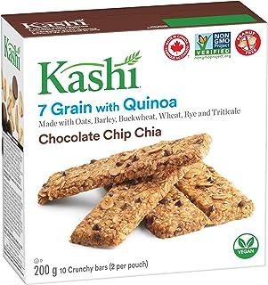 Kashi Seven Grain with Quinoa bars, Chocolate Chip Chia Non-GMO, 200g/7.1oz, box {Imported from Canada}