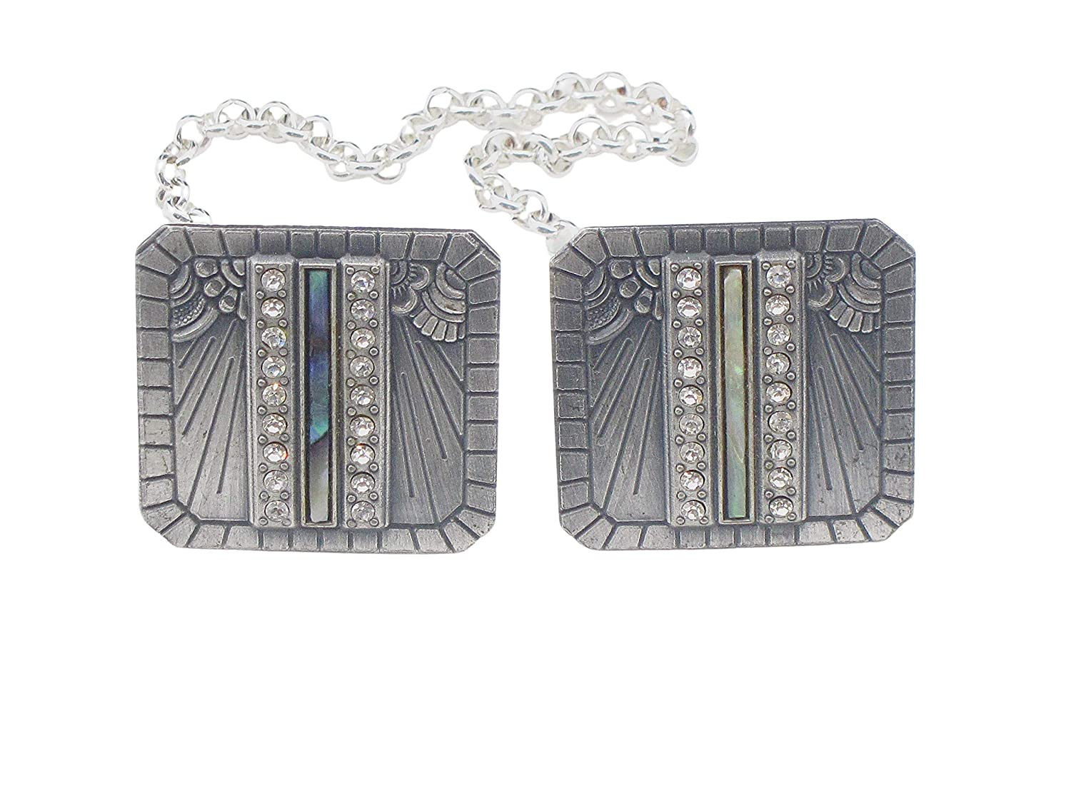 Art Deco Style Clips Challenge the lowest price of Japan ☆ Sweater Max 81% OFF