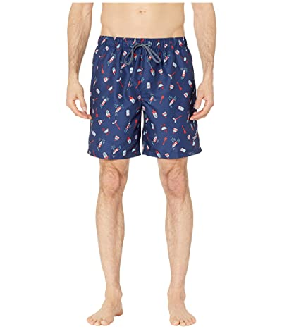 Speedo Americana Print Volley 18 (Speedo Navy) Men