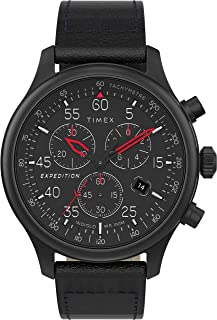 Timex Expedition Field Chronograph 43mm Watch For Men