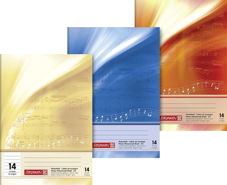 Brunnen–Music 1046330Book A5Landscape 16Max 90% OFF Excellent