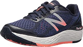 New Balance Women's Vongo v2 Running Shoe, Pigment/Blue Iris, 6 D US