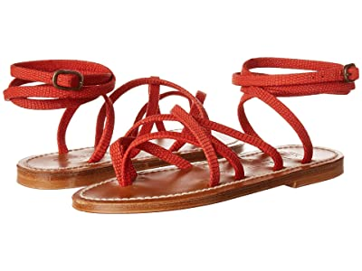 K.Jacques Zenobie Velours Sandal (Geko Antilia) Women