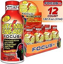 (12 Pack) VitaminEnergy™ Keto Energy Shot, Focus+, Zero Sugar Energy Shot Vitamin Drink, Energy Lasts up to...