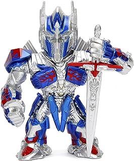 Jada Metalfigs Transformers- The Last Knight Optimus Prime (M407) Metals Die-Cast Collectible Toy Figure, 4