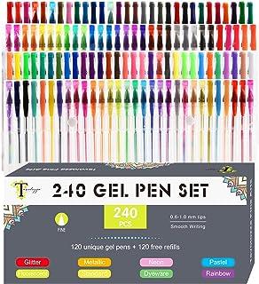 Newdoer 120/Einzigartige Farben Gelstifte 120 Pens
