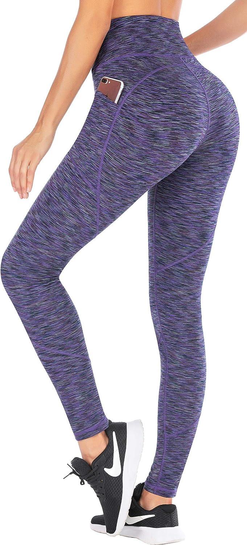 Ewedoos High Waisted 5 ☆ popular Very popular Leggings with Women Pants for Pockets Yoga