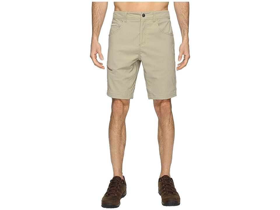 Royal Robbins Alpine Road Shorts (Khaki) Men