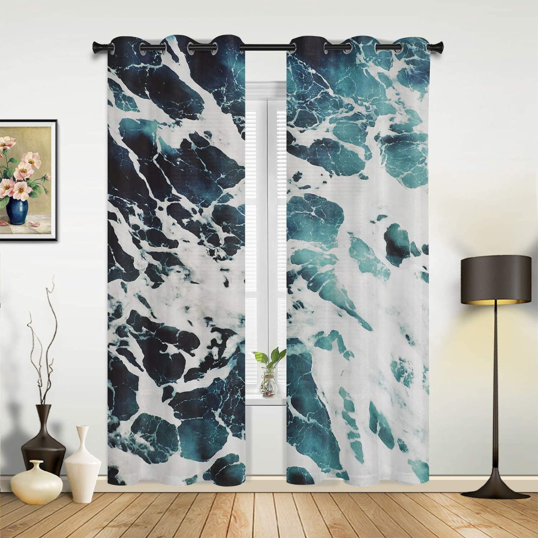 SODIKA 迅速な対応で商品をお届け致します Blackout Room Darkening セール 登場から人気沸騰 Panels Window Treatment Curtains
