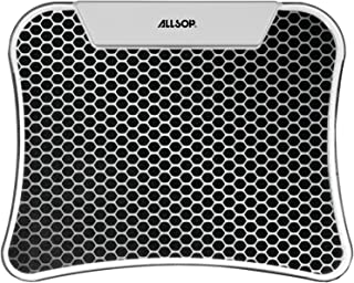 Allsop LED Mouse Pad with 4 Port USB Hub - Hex (30918)