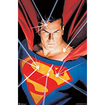 "Trends International DC Comics - Superman - Portrait Wall Poster, 22.375"" x 34"", Unframed Version"