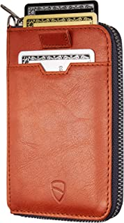 Vaultskin Notting Hill zip wallet with RFID protection