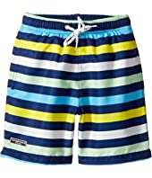 Toobydoo - Multi Stripe Swim Shorts (Infant/Toddler/Little Kids/Big Kids)
