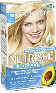 Garnier Nutrisse Permanent Hair Colour Camomile 10 Ultra Light Blonde