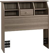 Sauder Shoal Creek Bookcase Headboard, Twin, Diamond Ash finish