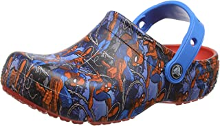 crocs FunLab Spiderman Boys Clog in Red