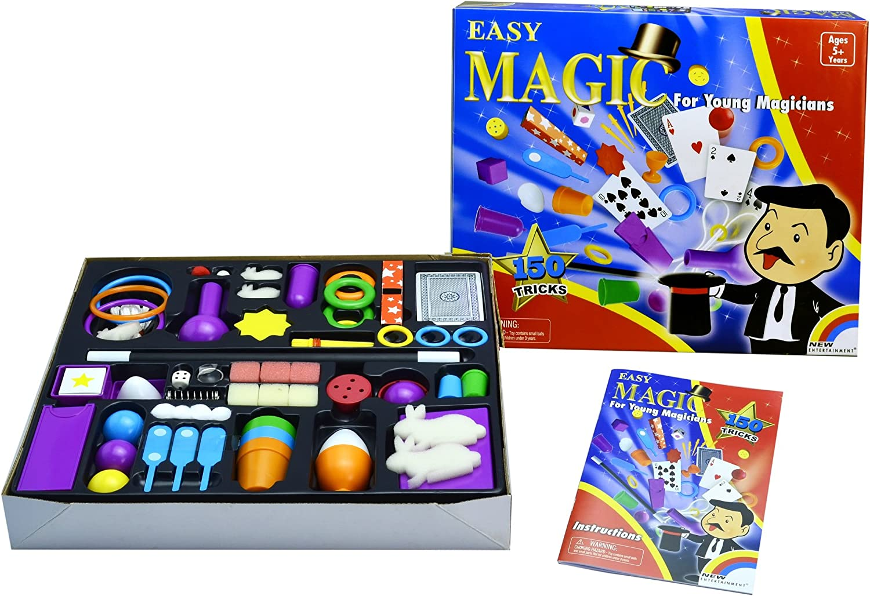 New Entertainment Magic 150 Trick Set