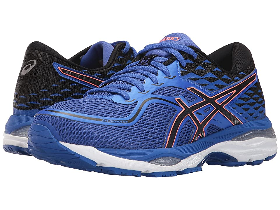 ASICS GEL-Cumulus(r) 19 (Blue/Purple/Black/Flash Coral) Women