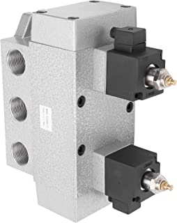 Air Solenoid Valve, Solenoid Valve 0.15‑0.8Mpa Aluminium Alloy for Industry(DC24V)