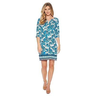Hatley Lucy Dress (Blue Elephants) Women