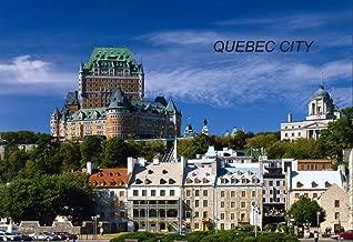 Canada Canadian Quebec QC Fridge Refrigerator Magnets (City: Quebec City – I8)
