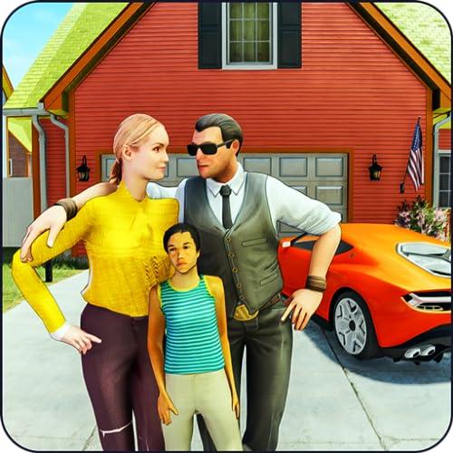 Bon mari virtuel: mode de vie familial heureux