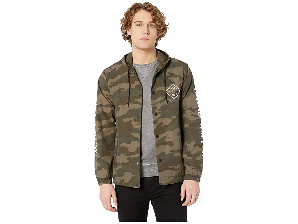 Salty Crew - Salty Crew Tippet Cover-Up Snap Jacket