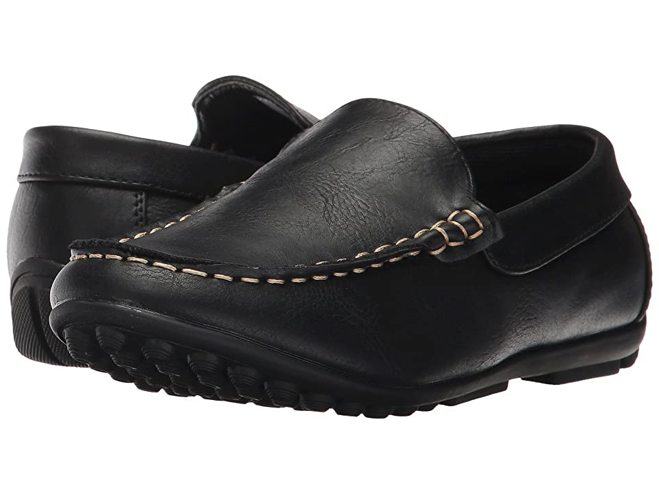 Steve Madden Kids Bcompton (Toddler/Little Kid/Big Kid) (Black) Boys Shoes