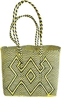 OTOMI MEXICO - Borsa tote in materiale riciclato - shopper realizzata a mano - Borsa da spiaggia - beach bag - borsa tote ...