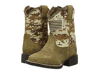 M&F Western Kids Patriot (Toddler) (Medium Brown/Camo) Boys Shoes