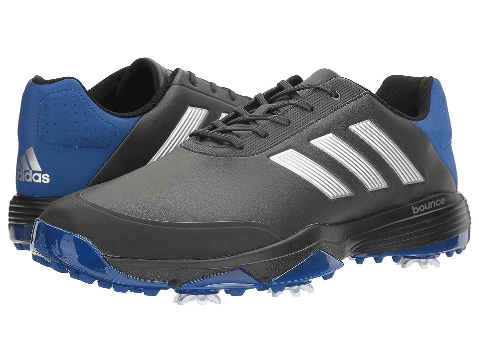 adidas Golf Adipower Bounce (Carbon/Silver Metallic/Collegiate Royal) Men