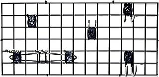 Organized Living Activity Organizer Wire Grid, 48-inch x 24-inch