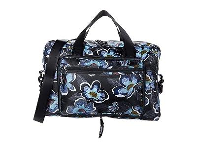 Vera Bradley Packable Weekender (Blooms Shower Black) Weekender/Overnight Luggage
