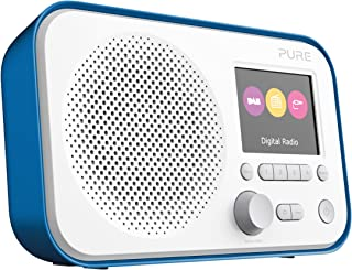 Pure Elan E3 Portable Digital DAB/DAB+/FM Digital Radio with Alarm, Colour Screen, AUX Input, Headphones Output and 40 Sta...